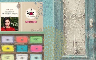 * La commode aux tiroirs de couleurs * Olivia RUIZ
